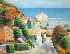 Gorgeous Catalina Island in Summer. One of our newest 1000 piece puzzles from Tomax Jigsaw Puzzles $14.95