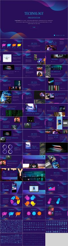 Color technology design PowerPoint – The highest quality PowerPoint Templates and Keynote Templates download Jeopardy Powerpoint Template, Professional Powerpoint Templates, Creative Powerpoint Templates, Keynote Template, Presentation Software, Powerpoint Presentation Templates, Presentation Design, Tool Design, Ppt Design