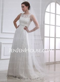 Wedding Veils - $36.99 - Cathedral Veils Tulle One-tier Wedding Veils With Classic (006025118) http://jenjenhouse.com/Cathedral-Veils-Tulle-One-Tier-Wedding-Veils-With-Classic-006025118-g25118