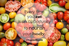 Every time you eat is an opportunity to nourish your body! #VegetalHealth.  www.vegetalindia.com