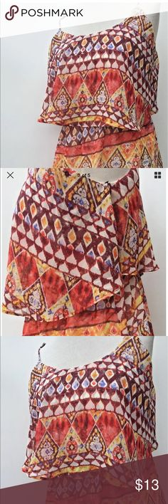 Forever 21 Summer Casual Womens Size Large Dress Forever 21 Summer Casual Womens Size Large Dress Boho Hippie Party Tribal Forever 21 Dresses Midi