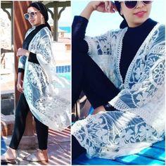 Burkini modest swimwear with cover ups Hijab Fashion Summer, Modern Hijab Fashion, Muslim Fashion, Women's Fashion, Fashion Trends, Jogging, Muslim Swimwear, Hijab Style Tutorial, Kimono