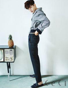 Lee Jong Suk - Ceci Magazine June Issue '16