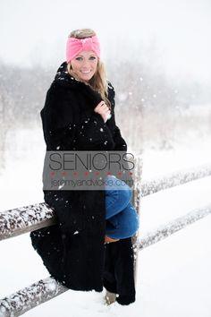 Caroline…Senior Snow Session » Jeremy + Vickie