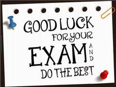 Exam Wishes