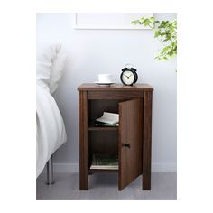 BRUSALI Stolik nocny - brązowy - IKEA