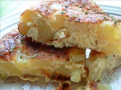 Tortilla Española - Spanish Potato Omelette