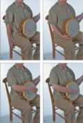 How to Play D-Shape Backup Licks on the Bluegrass Banjo - For Dummies
