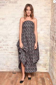 Alexa Chung assiste au dîner de coup d'envoi de la Fashion Week organisé par Roger Vivier et mytheresa.com, au 58 Gansevoort. New York, le 9 septembre 2015.