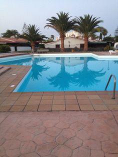 Our resort in Playa del Ingles #pool #swim #resort #water #bungalow #PlayadeiIngles