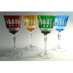 Adel Crystal Wine Glass Set