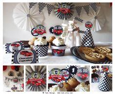 Race Car Birthday Party Printables Race Car Theme by todi