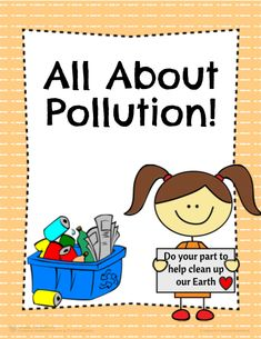 All  About Pollution: Math, Science and Literacy! Full of Great activities that connect Science, Literacy, and Math while informing about the top 3 main causes of Pollution! #teachersherpa