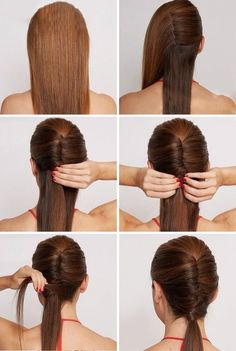 3 Dazzling Tips: Funky Hairstyles Simple formal updos hairstyle.Fringe Hairstyles Brown women hairstyles with bangs fringes.Women Hairstyles With Bangs Fringes. Wedge Hairstyles, Easy Hairstyles For Long Hair, Everyday Hairstyles, Hairstyles With Bangs, Braided Hairstyles, Hairstyles 2018, Beautiful Hairstyles, Updos Hairstyle, Trendy Hairstyles