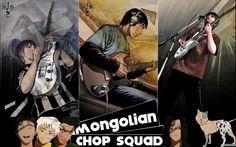 Anime-Zone. Аниме обои к Beck - Mongolian Chop Squad.