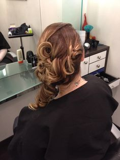 Up-do and Ombré by Carver Johnson