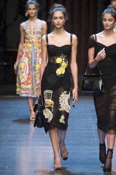 Dolce & Gabbana - Pasarela Primavera/ Verano 2016