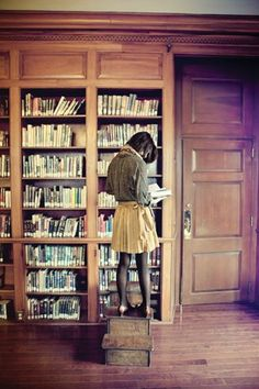 // the library opens whole universes of opportunity. caution: your favorite hobby (or your career) may turn into something you never knew you enjoyed.