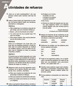 EL PATIO DE GEMMA: 393. LENGUA Y LITERATURA 1º ESO FICHAS REFUERZO Y...