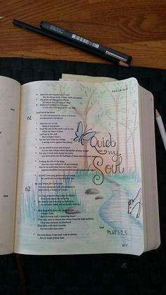 Psalm 62 found on Bible Journaling Community