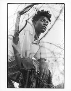 """I don't think about art when I'm working. I try to think about life."" -Jean-Michel Basquiat"