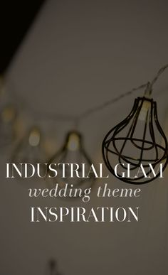 Take everything you love about the city—the lights, the buildings, that downtown urban feel—and imagine a wedding with that exact same vibe. Bold, confident, mature and modern, the Industrial wedding theme features the best of city life whether you live downtown or not.