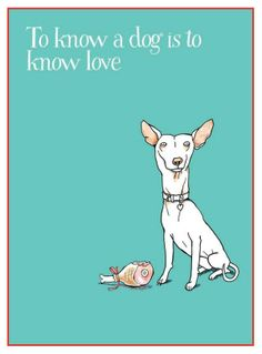 To know a dog is to love