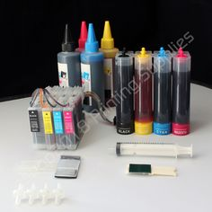CIS CISS Continuous Ink Supply System & Extra Set Ink LC75 For Brother Printers