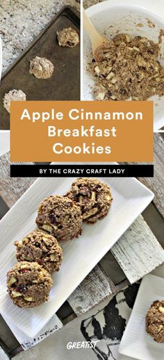 Getting out of bed in the morning just got a LOT easier. #Healthy #Breakfast #Cookies https://greatist.com/eat/healthy-breakfast-cookies