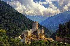 Zil Castle, Çamlıhemşin, Rize