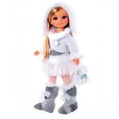 Кукла Нэнси на коньках