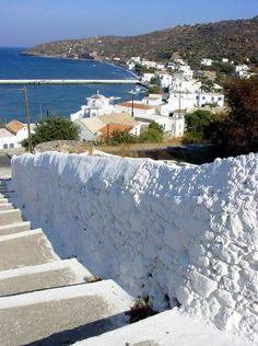 Nissyros Island: Greece-Steps from Palli to Mandraki Travel Around The World, Around The Worlds, Take The High Road, Greek Culture, Greece Islands, Island Beach, Future Travel, Greece Travel, Trip Planning