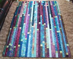 jelly roll race quilt - Google Search