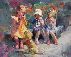 Sweets for the Sweet by Corinne Hartley Oil