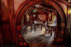 Сказочная и волшебная деревня хоббитов