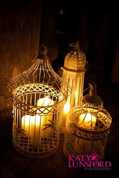 Bird Cages as Lanterns by saddleworthshindigs on flickr