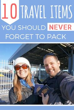 10 Travel Items You Should Never Forget to Pack