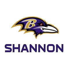 Baltimore Ravens: Stacked Personalized Name (Purple) - Giant NFL Transfer Decal Disney Wall Decals, Name Wall Decals, Removable Wall Decals, Purple Walls, Black Walls, Super Bowl Wins, Rub On Transfers, Baltimore Ravens, Nascar Racing
