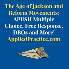 age of jackson dbq Essay on jacksonian dbq the age of jackson, from the 1820's to the 1830's, was a period of american history full of contradictions, especially in regard to democracy.