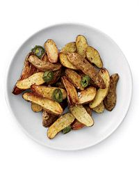 Jalapeno Roasted Potatoes. Very yummy!! I can't eat spicy food so would add less jalapenos next time around.