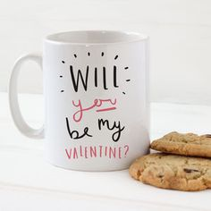 Be My Valentines Mug - mugs