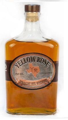 Yellow Rose Straight Rye Whiskey (Should Try Wine Bottles) Rye Whiskey, Cigars And Whiskey, Scotch Whiskey, Bourbon Whiskey, Rum Bottle, Wine Bottles, Whiskey Bottle, Whiskey Distillery, Whisky