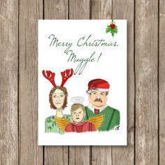 printable christmas card, Harry Potter, expecto Christmas ...