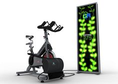 Green Revolution spin bike generator converts your workout energy into electricity!