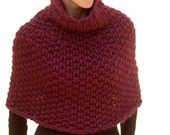 Instructions to make: Magnum Capelet 4 (knit) PDF knitting pattern