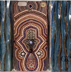 Hamsa hand evil eye iphone 7 case iphone 7 plus case by ochicusa