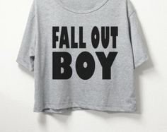 Fall Out Boy croptop