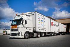 Informatie - Zweedse LZV roadtrain een succes | Middelbos Import & Groothandel