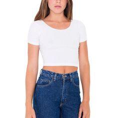 Cotton Women T-shirts O neck Sexy Crop Top Short Sleeve Tops Shirt Ladies Short Stretch Basic T-shirt