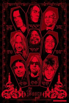 "An excellent illustration of HEAVY METAL LEGENDS that we lost not long ago.   ""The World's No:1 Online Heavy Metal T-Shirt Store"". Check it out NOW; www.HeavyMetalTshirts.net"